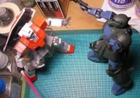 HGUC 1/144 RGM-79 ジム製作09