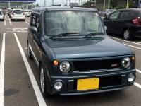 ラパンSS(HE21S)購入&交通安全お祓い(高瀬神社)