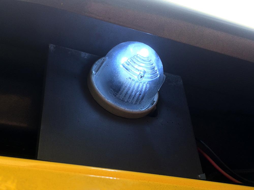 ラパンSS(HE21S)リアナンバー灯 LED化