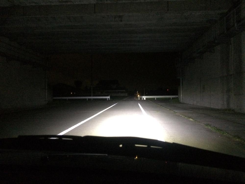 ラパンSS(HE21S)ヘッドライト LED ハイビーム