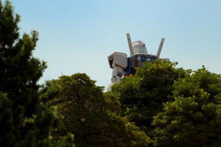 東京お台場「ガンダム」01