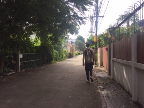 Long walks around Bangkok.