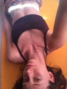 Yoga sweat seshs = happiness