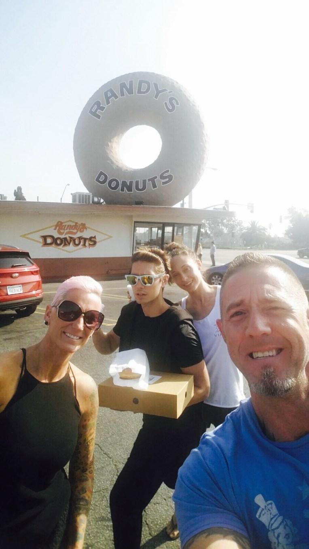 Randy's Donuts in LA