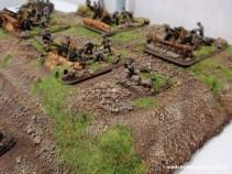 Detalla de la artillería