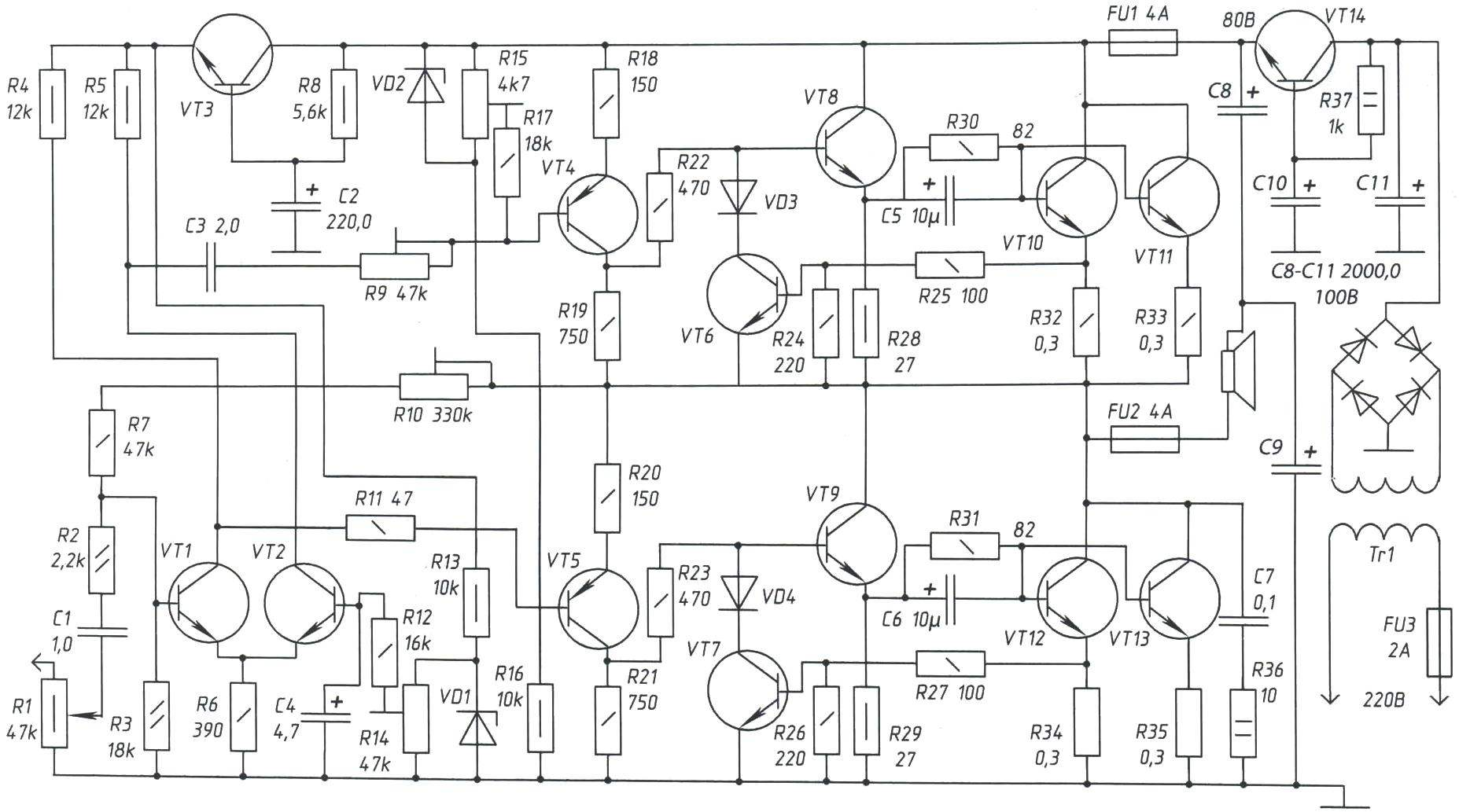 Transistor Like A Tube