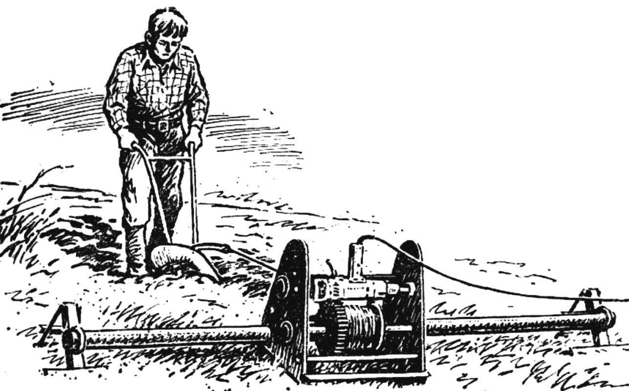 Drill Plow