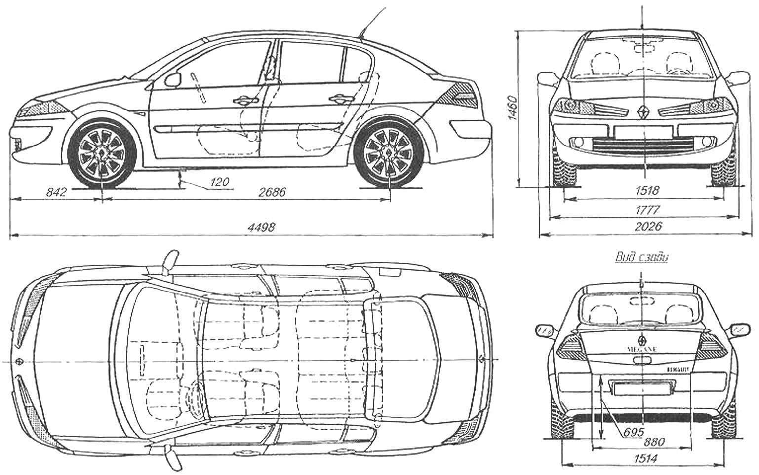 Renault Megane Inside And Outside