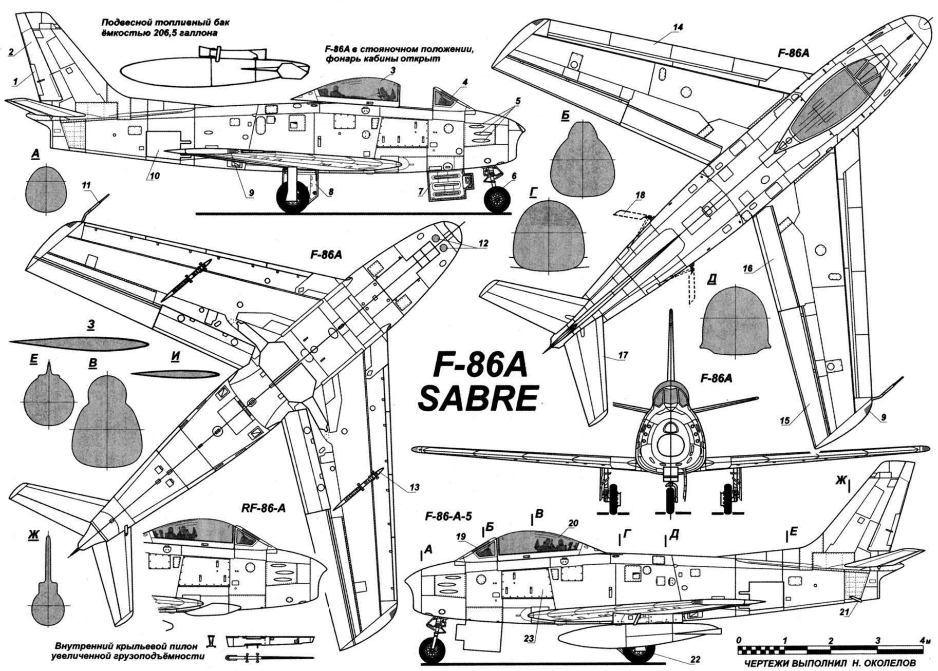 The F 86 Sabre