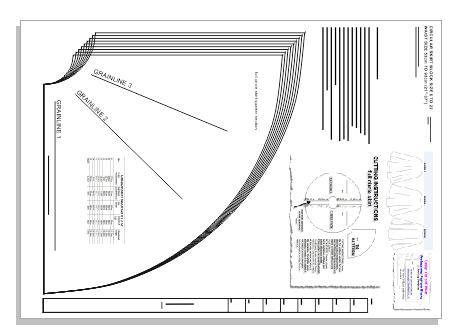 Pattern Help Lengthening A Circular Skirt Full Circle Modeliste