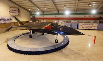 Iran's fighter jet