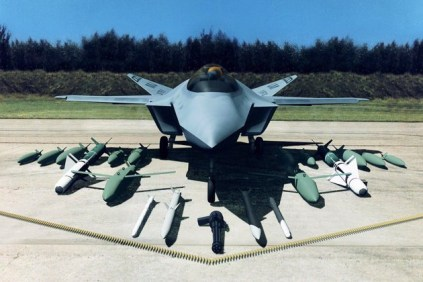 A carrier's effectiveness isn't judged by its plumbing, but by its ability to deliver lethal military force from these 4.5 acres of sovereign US territory. That lethality comes in many forms — like the weapons aboard the new F-35 Joint Strike Fighter.