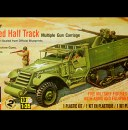 Monogram Armored Half Track Model Kit