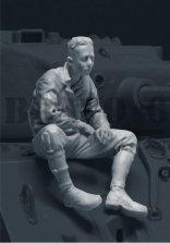 6-35108 U.S. Tank Commander (1) 1944-45