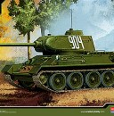 New T-34/85 Russian Tank from Academy