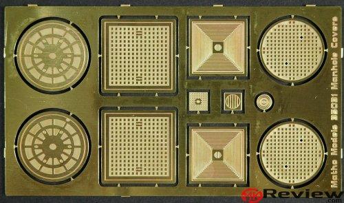 Matho Models Manhole Covers 35031