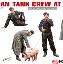 Miniart 1/35 German Tank Crew at rest #35198