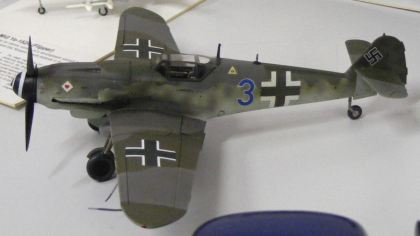 A Bf-109 it must be Marks'
