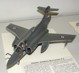 Leigh's Buccaneer, one of only a handfull of aircraft the Pom's got right