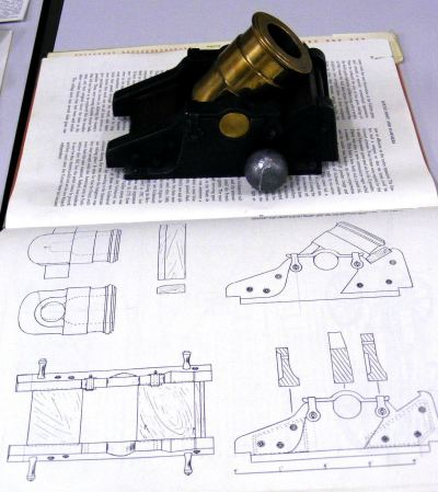Nick's Bombard and reference book