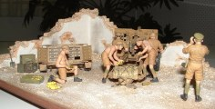Nick's diorama from the rear