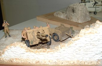 Nick's diorama front view