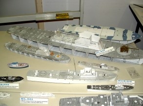 Roger's large scale card ship