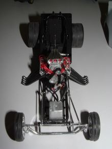 Sean's Funny Car chassis