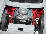 Sean's Nascar engine close up