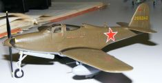 Steve's P-63 King Cobra side view