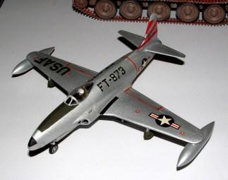 Steves' P-80 an old Airfix kit