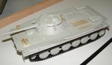 Steve's PT-76 Russian version of a PT boat