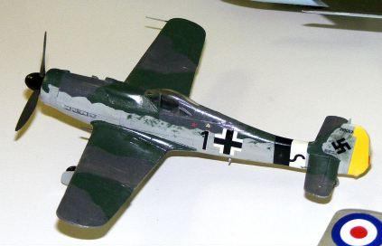 Rod's Fw-190D in progress