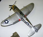 Jason's P-47 upper view