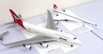Leigh's comparison of 747 & Concorde