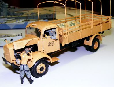 Len's Mercedes truck