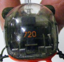 Rods' chopper showing Aussie markings
