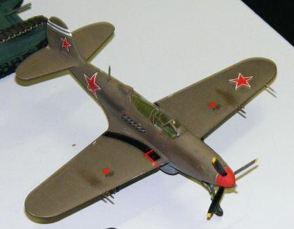 Rod's P-40 Russian Cobra