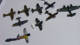 Roger's small scale aircraft display
