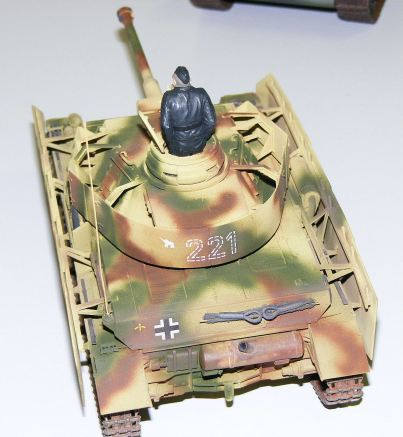 Steves Pz-IV rear view