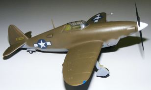 Steve's XP-47 starboard side view