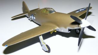 Steve's XP-47 Thunderbolt with Chrysler motor