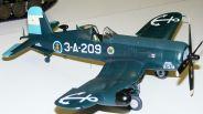 Wayne's F4U-5N Corsair Starboard side