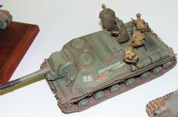 Wayne's ISU-152 with troops