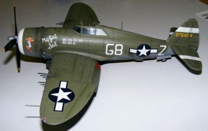 Wayne's P-47 My Gal Sal