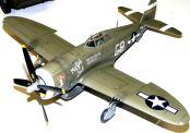 Wayne's P-47D upper port view