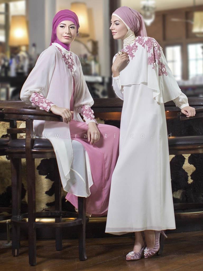 Baju Gamis Sifon untuk Acara Pesta Pernikahan