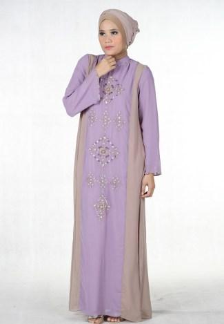 Baju Gamis Sifon untuk Wanita Muslimah