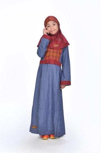 Baju Lebaran Anak Perempuan Paling Modern