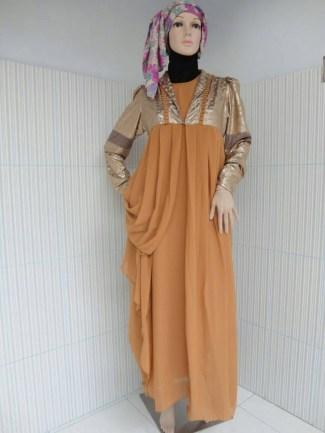 Inspirasi Model Baju Gamis Sifon untuk Wanita Trendi